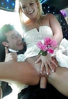 Wedding Cleavage Pics