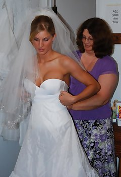 Bride Cleavage Pics